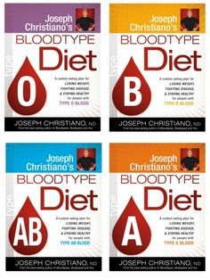 Blood Type Diet Plans For Each Blood Type, O Blood Type, A Blood .