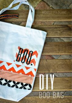 michelle lea designs: HUGE NEWS and Boo Bag Tote