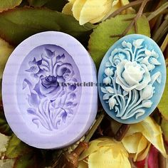 Rose Flexible Silicone Mold Silicone Mould Candy Mold by MoldHouse, $2.99