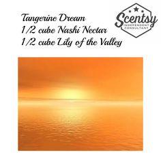 Tangerine Dream Scentsy Recipe