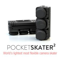 Edelkrone PocketSkater2 a Compact Dolly System That Fits In Your Pocket