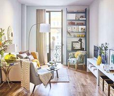 Apartament de două camere cu bucătăria configurată ca un dulap spațios