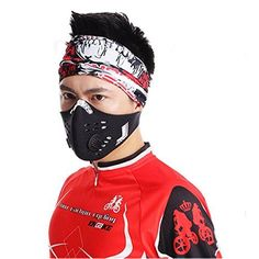 Cycling Personal Care Products - Senston New Style Neoprene Anti Dust Motorcycle Bicycle Cycling Ski Half Face Mask Filter ** Check out the image by visiting the link.