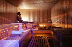 Those that know me, know that I am big into detoxing and achieving optimal health. I knew saunas were a great addition to an already solid health and fitness plan, but I never had access Fitness Plan, Health Fitness, Dry Sauna, Saunas, Sore Muscles, Vegan Lifestyle, Detox, Period, Training