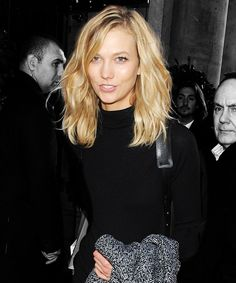 Karlie Kloss Traded Her Angel Wings For Sneakers #refinery29  http://www.refinery29.com/2014/12/78913/karlie-kloss-turtleneck-outfit-ideas
