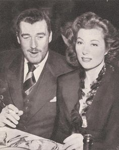Walter Pidgeon and Greer Garson