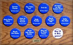 One of the many things I miss about PSU is grabbing our button before a game.