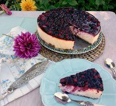 Mixed Berries Cheesecake / Tarta de Queso y Frutos Rojos