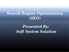 Search engine optimization is a procedure of improving ranking of any website in the search results of popular search engines such as Google, Yahoo, and Bing.