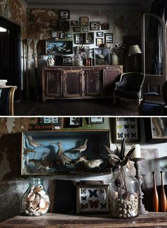 Addams Family Meets Alice in Wonderland - The Painted Room Color Consulting