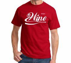 Enjoy Wine Parody Alcohol Shirt