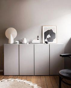 Diy Bathroom Paint, Ikea Hack Bathroom, Diy Bathroom Furniture, Home Office Design, Home Design, Ikea Design, Ivar Ikea Hack, Ikea Ivar Cabinet, Credenza Ikea