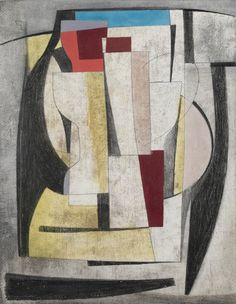 still life 1946 Ben Nicholson (British, Textiles Sketchbook, Francis Picabia, Abstract Geometric Art, Art For Art Sake, Georges Braque, Contemporary Paintings, Painting Inspiration, Collage Art, Still Life