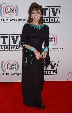 2005 March  Joan attended the 3rd Annual TV Land Awards, choosing turquoise as a vibrant accent to a black gown.