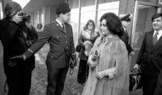Elizabeth Taylor in Finland 1975.