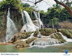 Các địa điểm du lịch ở Sơn La - Đi đâu chơi ở Mộc Châu? Hanoi, Vietnam Voyage, Waterfall, World, Outdoor, Traveling, Travel Agency, Cambodia, Pathways