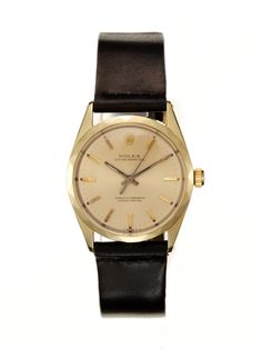Rolex Gold-Plated Stainless-Steel Oyster Perpetual Chronometer (c. 1963) by Vintage Watches on Park & Bond