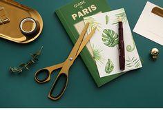 W stylu Vintage craft nożyczki projekt mosiądz nożyczki do cięcia papieru akcesoria biurowe notebook Planner DIY narzędzie szkoła papiernicze sklep w Nożyczki od Artykuły biurowe i szkolne na AliExpress - 11.11_Double 11Singles' Day Gift List, Scissors, Diy, Gifts, Vintage, Design, Paper, Gift Registry, Presents
