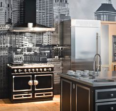 la cornue cornuf series ranges on pinterest ovens. Black Bedroom Furniture Sets. Home Design Ideas