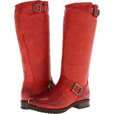 I think I might have to get me some red frye boots this fall...hmmmm