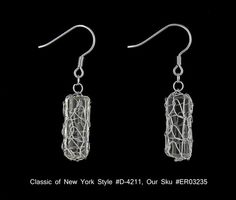 Sterling Silver Mesh Champagne CZ Dangle Drop Earrings Classics of NY D 4211 $44.00 | eBay http://www.ebay.com/itm/Sterling-Silver-Mesh-Champagne-CZ-Dangle-Drop-Earrings-Classics-NY-D-4211-/271084655648?pt=Fashion_Jewelry=item3f1de79420