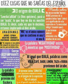 Diez curiosidades del español