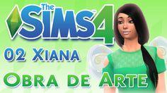 Los Sims 4 ¿Quedamos? /02 XIANA ♦OBRA DE ARTE♦ ♥tesasims♥