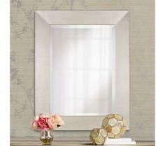 "Vianne Antiqued Silver 36"" Wall Mirror | 55DowningStreet.com"