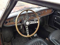 1965 Simca 1200 S   1,204 cm³   80 hp   Design: Bertone