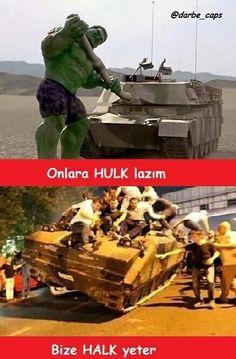 15 Temmuz darbe girişimi  Türk Milleti iman gücü ile darbeyi darb etti ELHAMDÜLİLLAH Dope Art, Panzer, Hulk, Beast, Jokes, Military, History, Funny, Anime