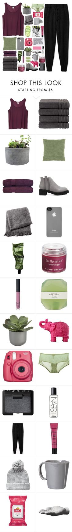 """""""collab with paris"""" by samiikins ❤ liked on Polyvore featuring Monki, Christy, Rough Fusion, From the Road, Incase, Aesop, Sara Happ, NARS Cosmetics, Pelle and Crate and Barrel"""