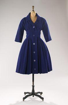 1957 Dior coatdress