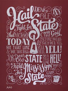 Image of Hail State Fight Song @Sumer Ryan Ryan Ryan Tatum-Clem State University