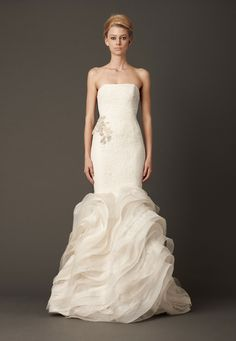"Wedding Dresses, Bridal Gowns by Vera Wang | Fall 2013 ""Lindsey"""