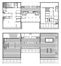 AD Classics: AD Classics: Kimbell Art Museum,Floor Plans