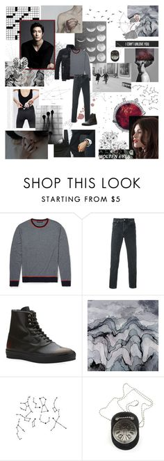 """""""if put to the test, would you step back from the line of fire?//hold everything back, all emotion set aside it [BotOCM]"""" by e-ureka ❤ liked on Polyvore featuring Zephyr, Givenchy, Alexander McQueen, George, Paul Brodie, WALL, men's fashion and menswear"""