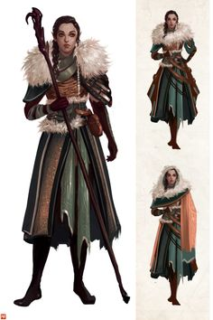 Elf woman, #fantasy character inspiration                                                                                                                                                     More
