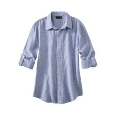 It's blue, and it's a shirt. Done deal.