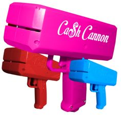Cash Cannon: Finally you don't need to handle those filthy dolla dolla bills yall before you handle those filthyfilthystrippers. Introducing the Cash Cannon! Pull the trigger and shoot them up with money so they can afford to shoot up after their long shift ...Read More @ http://greateststuffonearth.com/cash-cannon/
