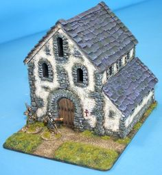 DA82 - English Saxon church