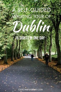 A Self-Guided Walking Tour Of Dublin - Explore Dublin on your own with this self-guided walking tour and discover 15 sights in one day. #Dublin #Ireland #Travel #Europe #Solotravel #CelticWanderlust