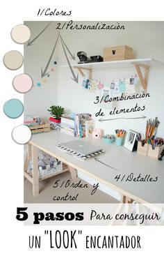 Un despacho nórdico encantador (Claves para conseguirlo) Blog T&D Decoration Bedroom, Nordic Style, Ideas Para, Office Desk, House, Furniture, Blog, Design, Home Decor