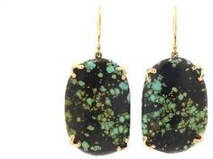 Jamie Joseph | Dark Chinese Turquoise Wisteria Earrings | Max's