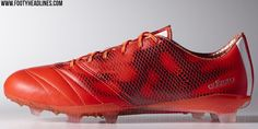 purchase cheap 18e68 22ca3 Red Adidas F50 Adizero 2015 Leather Boots Released - Footy Headlines  Equipos De Fútbol, Zapatos