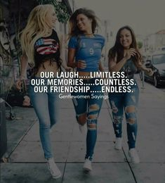 Tag your besties . Comment Yes if you. Best Friends Forever Quotes, Best Friend Quotes Funny, Besties Quotes, Attitude Quotes For Girls, Crazy Girl Quotes, Girly Quotes, Cute Quotes, Frienship Quotes, Real Friendship Quotes