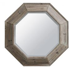The wooden Suzy octagon shaped mirror makes a unique addition to your decor. Set inside a wooden octagonal frame, this mirror is simple and sophisticated. Octagon Mirror, Suzy, Wooden Frames, Shapes, Simple, Entryway, Home Decor, Bedroom, Bag