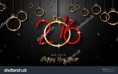 2016 Happy New Year And Merry Christmas Background For Your Seasonal Wallpapers, Greetings Card, Dinner Invitations, Pary Flyers, Covers And So On. Stock Vector Illustration 342261191 : Shutterstock