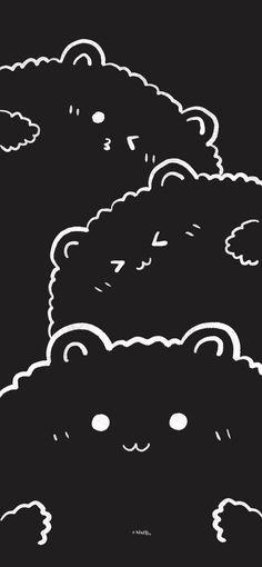 Transparent Wallpaper, Cute Desktop Wallpaper, Cute Pastel Wallpaper, Homescreen Wallpaper, Bear Wallpaper, Iphone Background Wallpaper, Aesthetic Pastel Wallpaper, Kawaii Wallpaper, Love Wallpaper