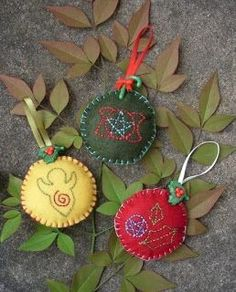 In putting up our tree this year I looked at our decorations and saw the lack of yule icons for decorations. The only two I had was this Su. Yule Crafts, Wiccan Crafts, Holiday Crafts, Hat Crafts, Holiday Ideas, Yule Decorations, Christmas Tree Decorations, Pagan Christmas Tree, Pagan Yule