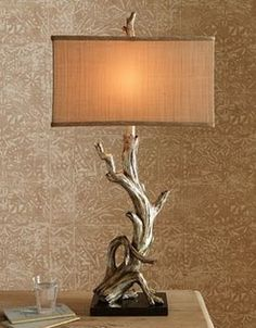 Drift wood lamp I love drift wood I find it beautiful